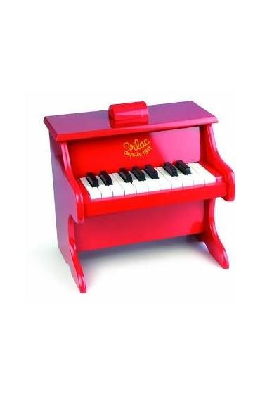 Piano de madera para niños,